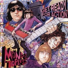 MONDO TOPLESS - Get Ready For Action LP