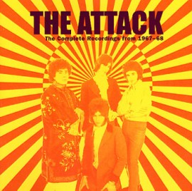 The Attack - The Complete Recordings 1967-1968 CD