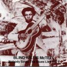 Blind Willie McTell - Nobody Sings The Blues Like Vol. 1 CD