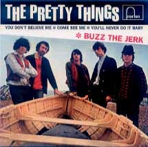 THE PRETTY THINGS - Buzz The Jerk EP