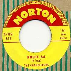 THE CHANCELLORS - Route 66 / On Tour