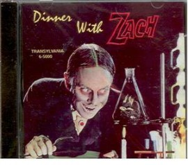 JOHN ZACHERLEY - Dinner With Drac CD