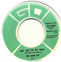 THE DRAG SET - Day And Night / Get Out Of My Way