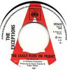 THE EXCEPTIONS - The Eagle Flies On Friday / Girl Trouble