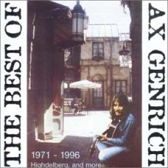 AX GENRICH - The Best Of Ax Genrich CD