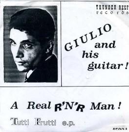 GIULIO AND HIS GUITAR - Tutti Frutti EP