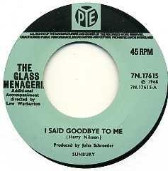 THE GLASS MENAGERIE - I Said Goodbye To Me / Frederick Johnson