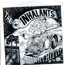 THE INHALANTS - Alright Hit It! / Instrumental