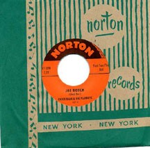 CHUCK BARR & THE PLAYBOYS / THE RAMRODS - split single