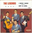 THE LEGENDS - I Wish I Knew / Bop - A - Lena