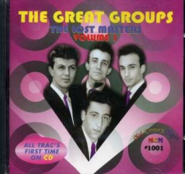 V/A - The Great Groups: The Lost Masters Volume One CD