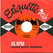 THE SONICS - Louie Louie / ROCKIN' ROBIN ROBERS AND THE FABULOUS WAILERS - Louie Louie