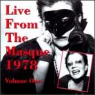 V/A - Live From The Masque 1978: Volume One CD