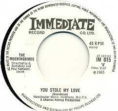 THE MOCKINGBIRDS - You Stole My Love / Skit Skat