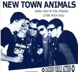 NEW TOWN ANIMALS / DELATEURS split
