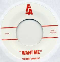 The Nightcrawlers - Want Me