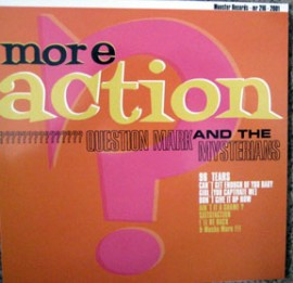 QUESTION MARK AND THE MYSTERIANS - More Action LP