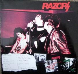 RAZORS - Rare & Live LP