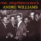 Andre Williams - Mr. Rhythm Is Back CD