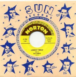 RAY HARRIS - Lonely Wolf / JIMMY PRITCHETT - That's The Way I Feel