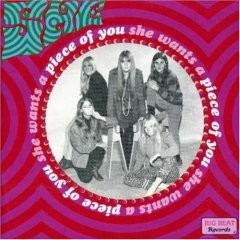 She - Wants A Piece Of You CD