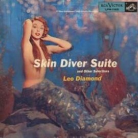 LEO DIAMOND - Skin Diver Suite / DAVE HARRIS & THE POWERHOUSE FIVE - Dinner Music For A Pack Of Hungry Cannibals CD
