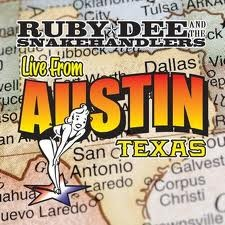 Ruby Dee and The Snakehandlers - Live from Austin, Texas CD