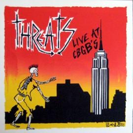 THE THREATS - Live At CBGB's LP